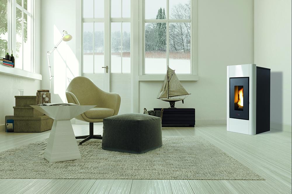 CADEL SWEET - Zwart/wit in hedendaags, wit interieur