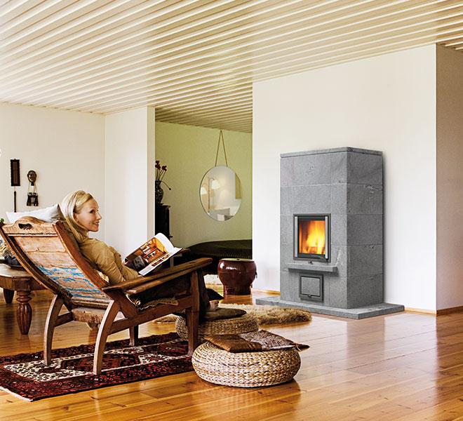 NunnaUuni: Joya-3-1 in warm, bruin interieur